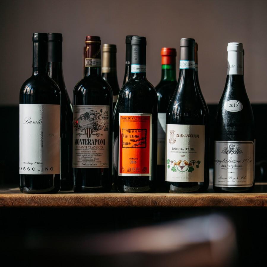 Second test wine